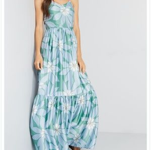 NWT MODCLOTH IN YOUR NATURE MAXI DRESS 4X
